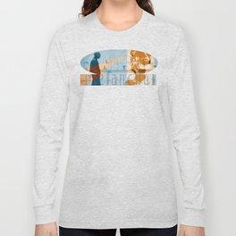 Melancholia vs the New World Long Sleeve T-shirt