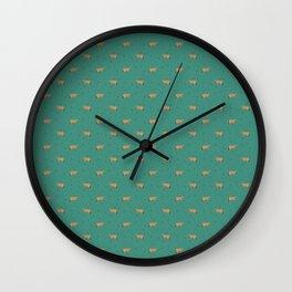Jerseys // Green Sprinkles Wall Clock