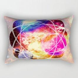 space. Rectangular Pillow