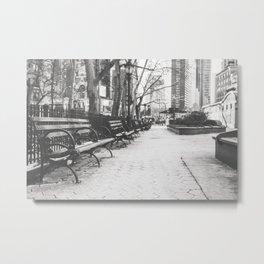 Verdi Square - New York City Photography Metal Print