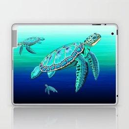 Sea Turtle Turquoise Oceanlife Laptop & iPad Skin
