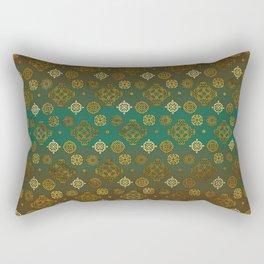 Ethnic Aztec symbols pattern Rectangular Pillow