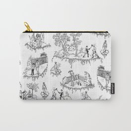 Zombie Toile - B&W Carry-All Pouch