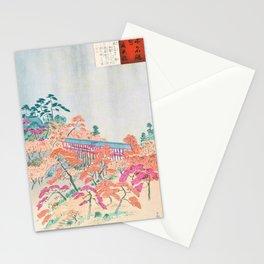 Kobayashi Kiyochika - Sketches of the Famous Sights of Japan - Tsutenkyo - Digital Remastered Edition Stationery Cards