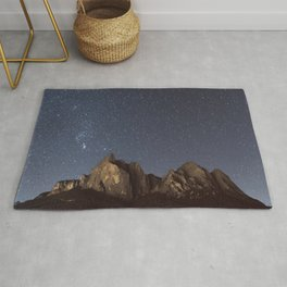 Stars over the Dolomites   Nature and Landscape Photography Rug