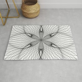Sacred Geometry Flower - C11281 Rug