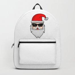 Cool Santa Claus - Christmas Sunglasses Winter Backpack