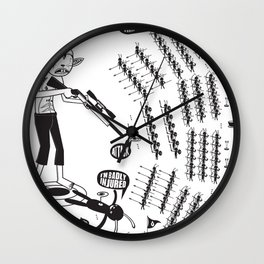 SORRY I MUST RUN - ULTIMATE WEAPON ARROW [FINAL ROUND] Wall Clock