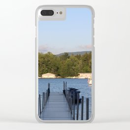 Upstate Lake George Clear iPhone Case