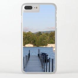 Upstate Lake George Clear iPhone Case
