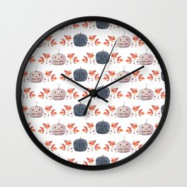 WATERCOLOR BOO Wall Clock