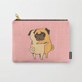 Pug Hugs Carry-All Pouch