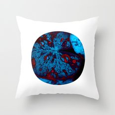 lily pad XII Throw Pillow