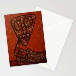 the rug shaker Stationery Cards
