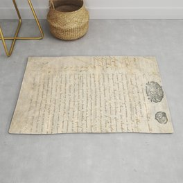 French Contract 1697 Rug