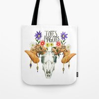 totes Tote Bags featuring Totes Magotes by Ariana Victoria Rose