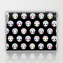 Cute sugar skulls B Laptop & iPad Skin