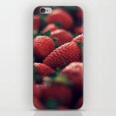Strawberries iPhone & iPod Skin