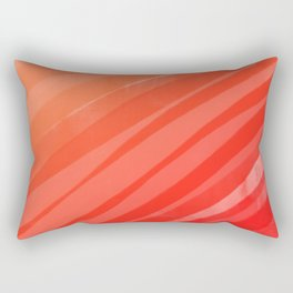 warm colors orange and red abstract Rectangular Pillow