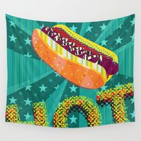 hot Wall Tapestries featuring HOT by Francesco Messina
