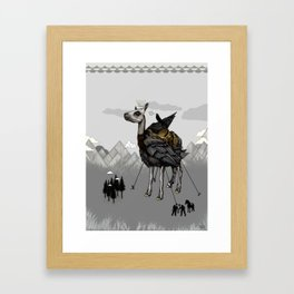 The Capture of the Feather King Framed Art Print