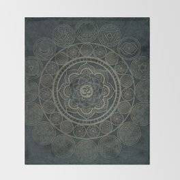 Circular Connections Throw Blanket