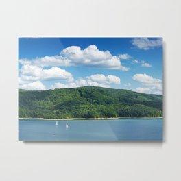 Lake Solina Metal Print