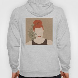 Terracotta Women V #leaves Hoody