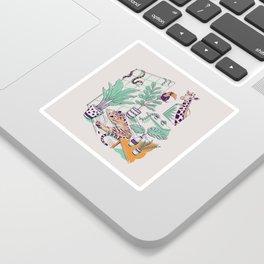Urban Jungle Sticker