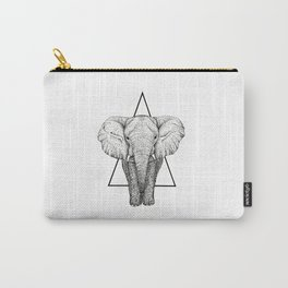 Wisdom Elephant Carry-All Pouch