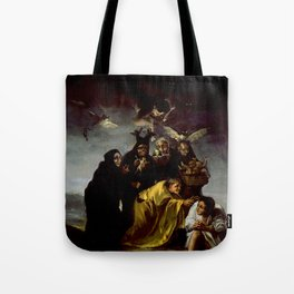 THE WITCHES SPELL - FRANCISCO GO Tote Bag