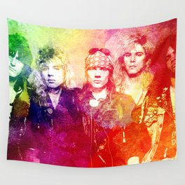 GNR color full Wall Tapestry