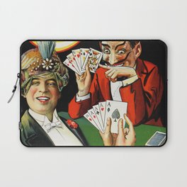 Carter The Great Magician Poster Laptop Sleeve