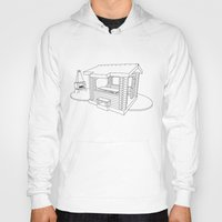 architecture Hoodies featuring architecture by Great Siberia Studio