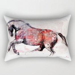 Horse (Berberys) Rectangular Pillow