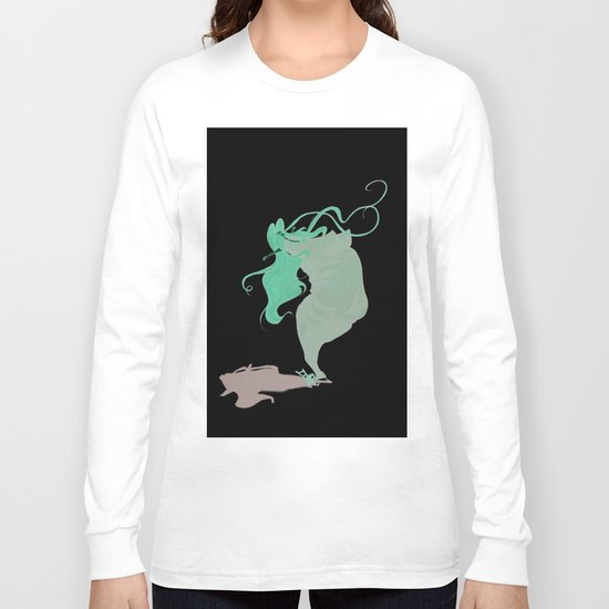 fat(fi)ness #1 Long Sleeve T-shirt
