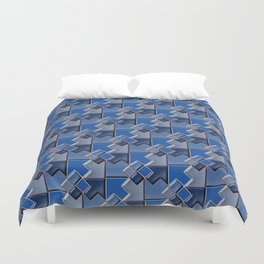 Geometrix XCV Duvet Cover