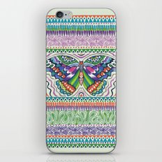 Tribal Butterfly iPhone Skin