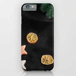Image Christmas little stars Lollipop Mandarine Fo iPhone Case