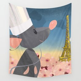 """""""Ratatouille - Floral"""" by Meghann O'Hara Wall Tapestry"""