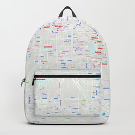 Beijing Map Backpack