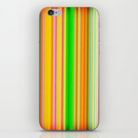 stripe iPhone & iPod Skins featuring stripe by AmeliaPeelArt