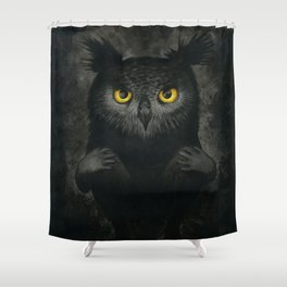 All the night Shower Curtain