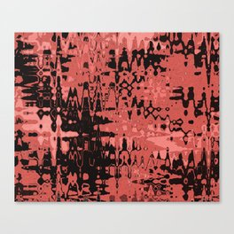 Splash Red Canvas Print