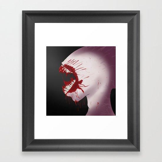 Mindnumbing Pain Framed Art Print