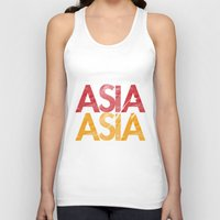 asia Tank Tops featuring Asia for Asia by Park is Park