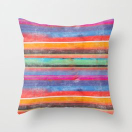 cosmic serape I Throw Pillow