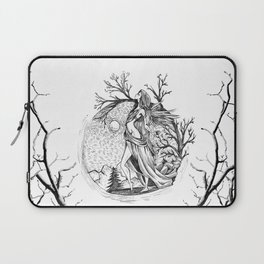 Lady of theMoon Laptop Sleeve