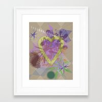focus Framed Art Prints featuring Focus by Keagraphics