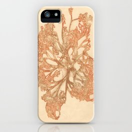 butterfly starfish iPhone Case
